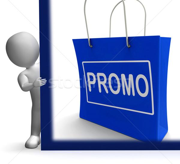 Promo zakupy podpisania zniżka redukcja zapisać Zdjęcia stock © stuartmiles