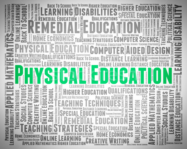 Physical Education Means University College And Gymnastics Stock photo © stuartmiles