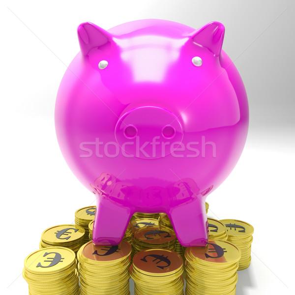 コイン ヨーロッパの 通貨 お金 ストックフォト © stuartmiles