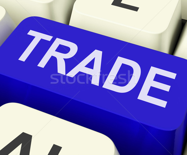 Trade Key Shows Online Buying And Selling Stock photo © stuartmiles