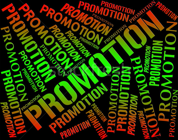 Promotion Word Shows Save Closeout And Words Stock photo © stuartmiles