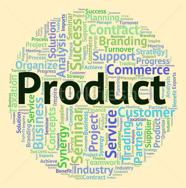 Product Word Represents Wordclouds Wordcloud And Stocks Stock photo © stuartmiles