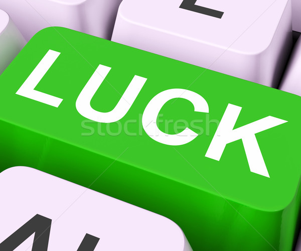 Luck Key Shows Fate Or Fortunate
