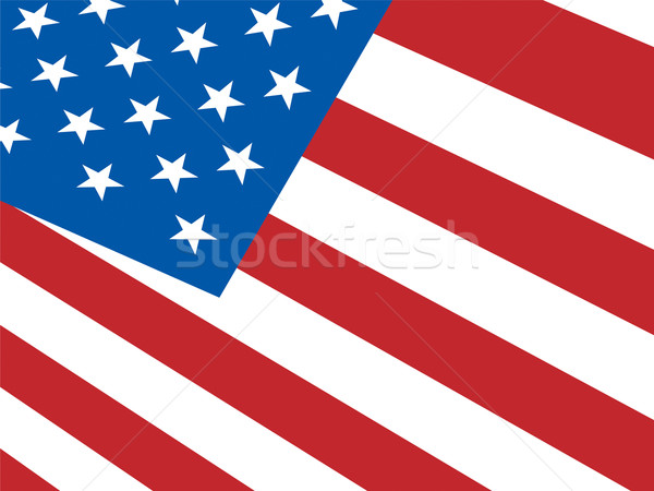American Flag Background Shows Democracy And Independence Stock photo © stuartmiles