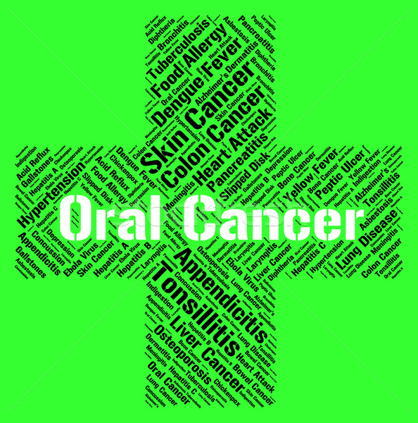 Oral Cancer Indicates Ill Health And Attack Stock photo © stuartmiles