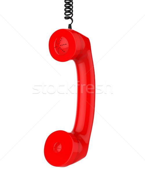 Rufen Service helfen Schreibtisch Hilfe Stock foto © stuartmiles