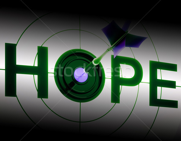 Hope Shows Sign Of Prayer And Faith Stock photo © stuartmiles