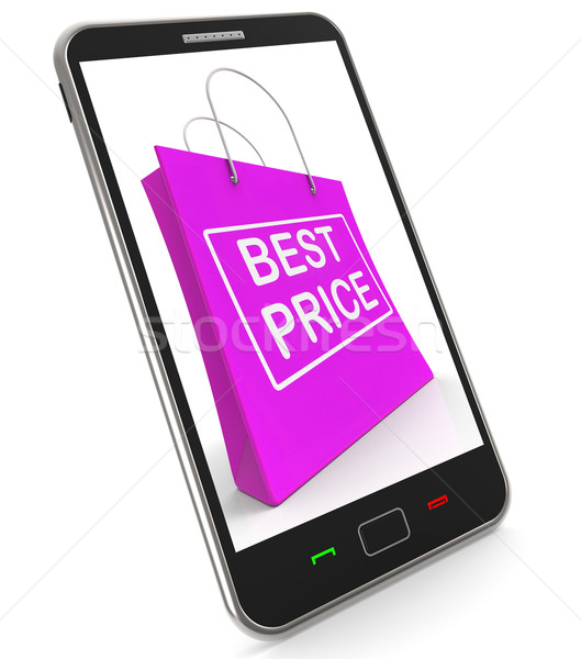 Best Price On Shopping Bags Shows Bargains Sale And Save Stock photo © stuartmiles