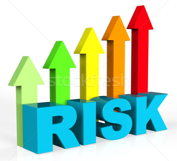 Increase Risk Means Hurdle Danger And Insecurity Stock photo © stuartmiles