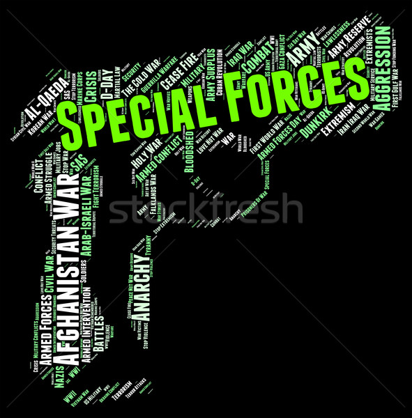 Special Forces Shows High Value And Direct Stock photo © stuartmiles