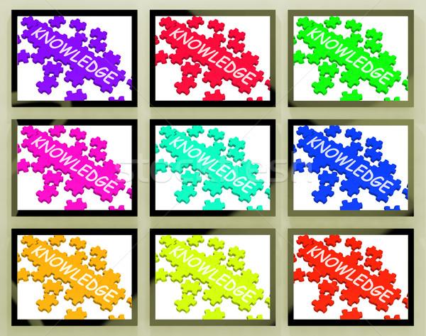 Intelligenza saggezza conoscenza informazioni creativo Smart Foto d'archivio © stuartmiles