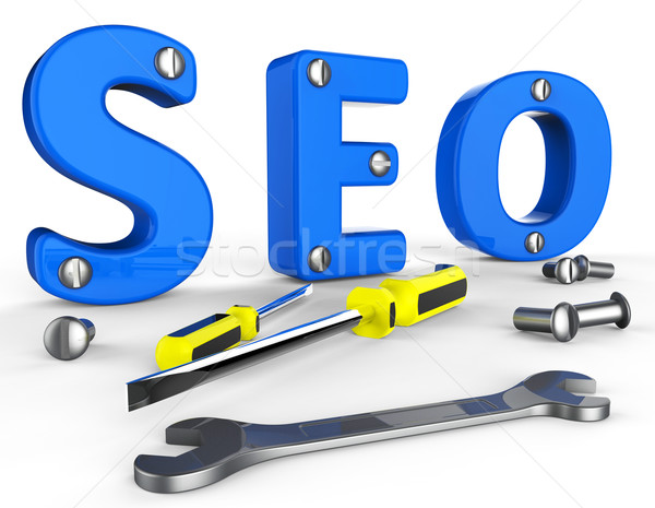 Rassemblement données informations marketing Photo stock © stuartmiles