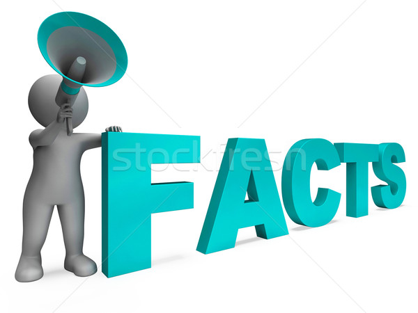 Facts Character Shows Details Information And Knowledge Stock photo © stuartmiles