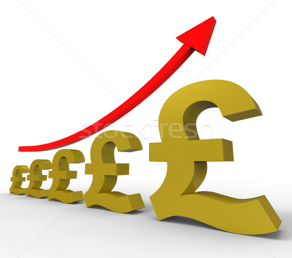 Gpp Increasing Means Costs Cost And Rising Stock photo © stuartmiles