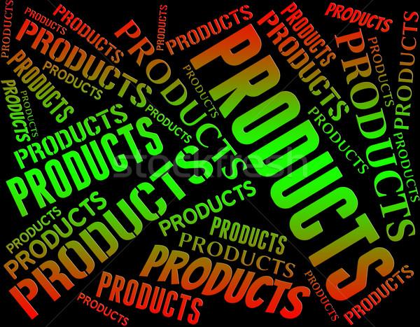 製品 言葉 販売 エクスポート ストックフォト © stuartmiles