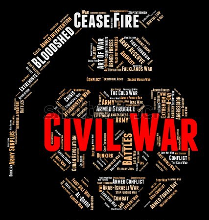 Wordcloud War Represents Military Action And Massacre Stock photo © stuartmiles