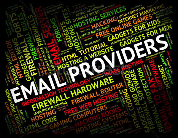 E-mail sturen bericht communicatie internet contact Stockfoto © stuartmiles