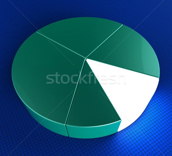円グラフ 予測 統計 ビジネスグラフ グラフィック ストックフォト © stuartmiles