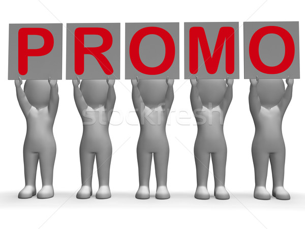 Stock photo: Promo Banners Shows Special Offers And Promotions