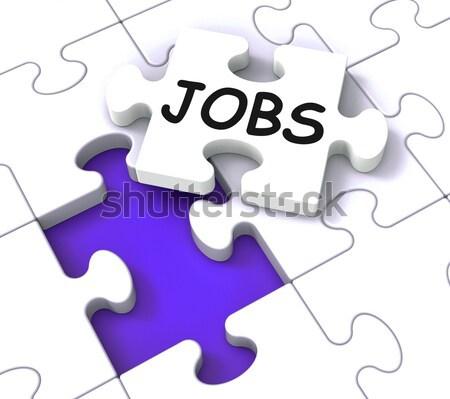 állások képernyő mutat állás toborzás karrierek Stock fotó © stuartmiles