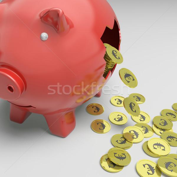 Roto Europa economía financiar Foto stock © stuartmiles