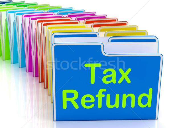 Podatku pokaż płatny Zdjęcia stock © stuartmiles