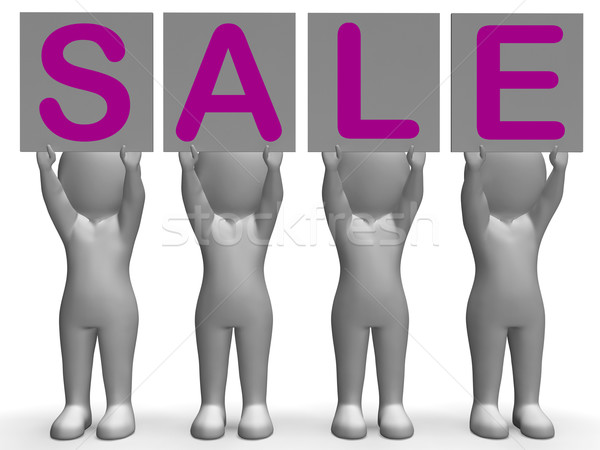 Sale Banners Shows Special Promotions And Retails Stock photo © stuartmiles