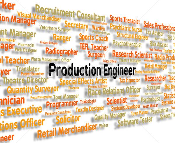 Foto d'archivio: Produzione · ingegnere · posizione · lavoro · carriera · reclutamento