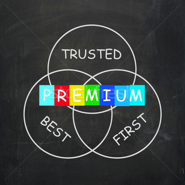 Premium Refers to Best First and Trusted Stock photo © stuartmiles
