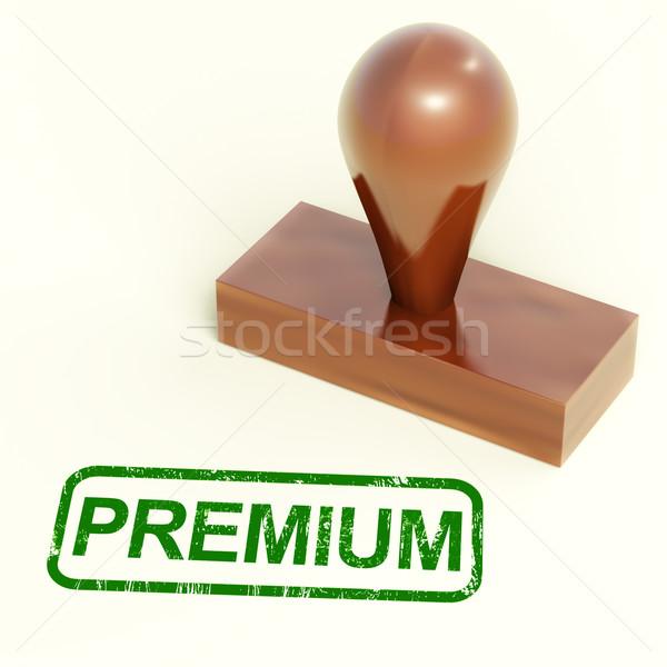 Premium Stamp Shows Excellent Product Stock photo © stuartmiles