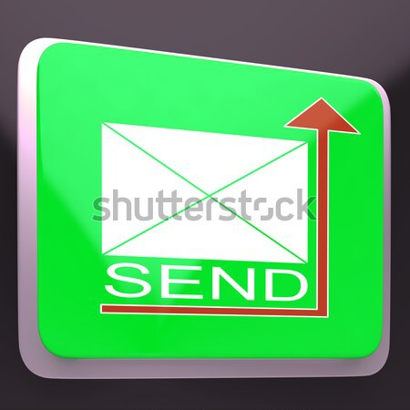 Send Envelope Shows Electronic Message Worldwide Communication Stock photo © stuartmiles