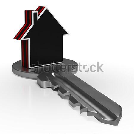Сток-фото: дома · ключевые · безопасности · недвижимости