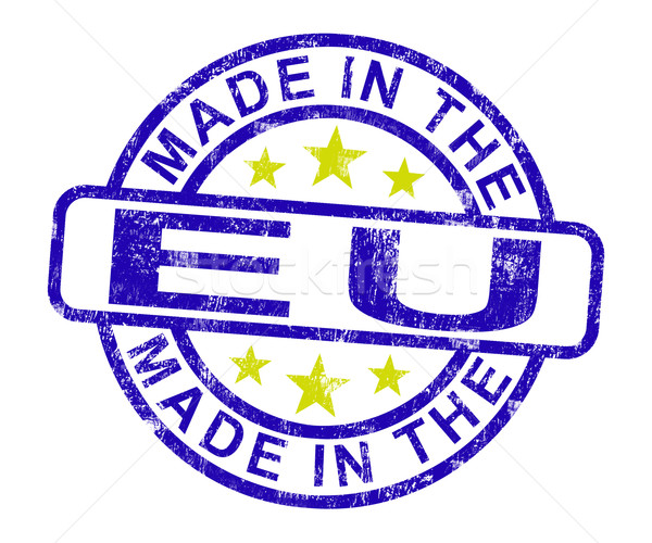 Ue sello producto producir europeo Foto stock © stuartmiles