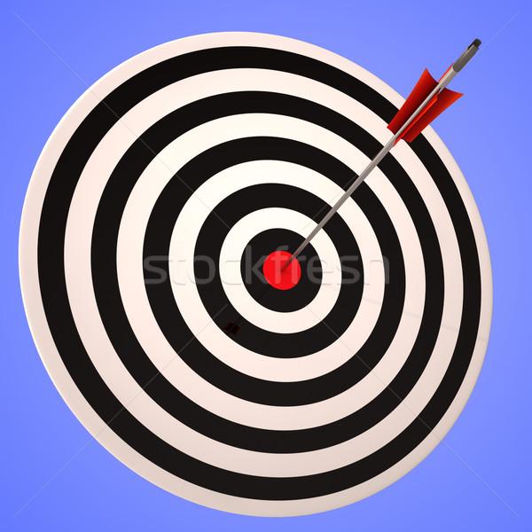 眼 ターゲット 正確な 受賞 戦略的 目標 ストックフォト © stuartmiles