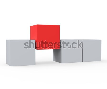Standing Out Means Different Or Outsider Stock photo © stuartmiles