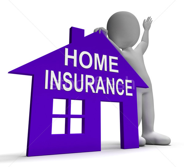Home Insurance House Means Insuring Property Stock photo © stuartmiles