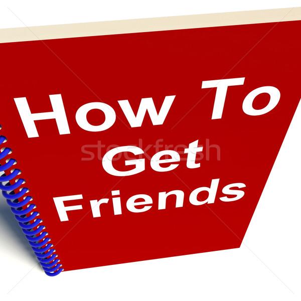 Stock fotó: Barátok · notebook · haverok · könyv