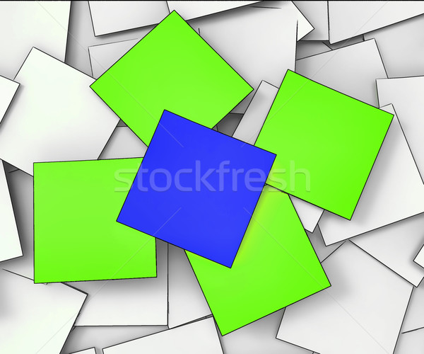 Blank Messages Shows Copyspace To Do And Note Stock photo © stuartmiles