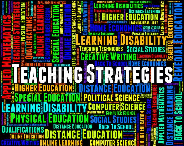 Ensino estratégias estratégia de negócios inovação dar Foto stock © stuartmiles