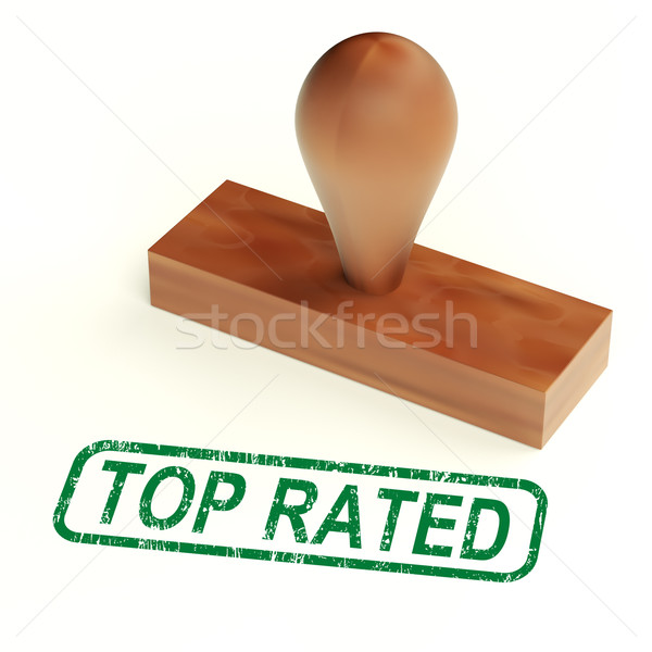 Top Rated Rubber Stamp Shows Premier Product Stock photo © stuartmiles