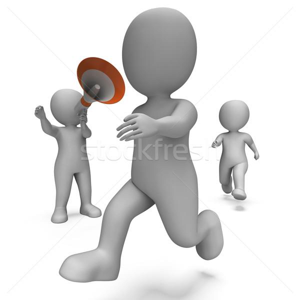 Fut betűk edző jogging law edző Stock fotó © stuartmiles