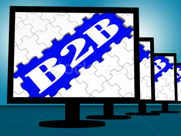 B2b działalności handlowy commerce online Zdjęcia stock © stuartmiles