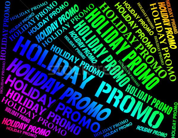 праздник рекламный дешево смысл время Сток-фото © stuartmiles
