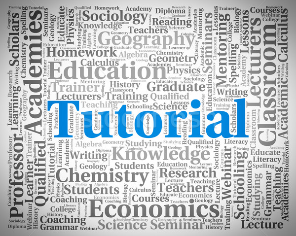 Eğitimi kelime çevrimiçi kolej okul Stok fotoğraf © stuartmiles