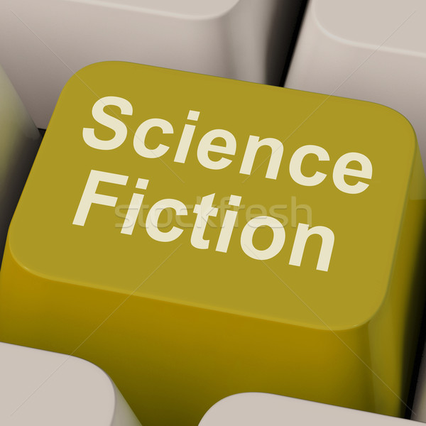 Science Fiction Key Shows Sci Fi Books And Movies Stock photo © stuartmiles