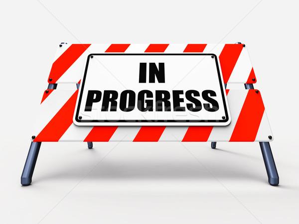 Progresso assinar agora Foto stock © stuartmiles