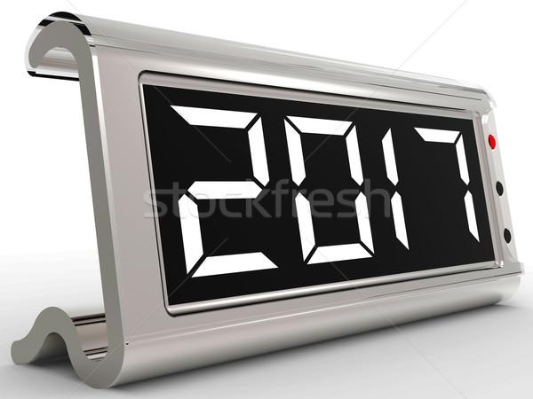 Bureau kalender jaar twee duizend zeventien Stockfoto © stuartmiles