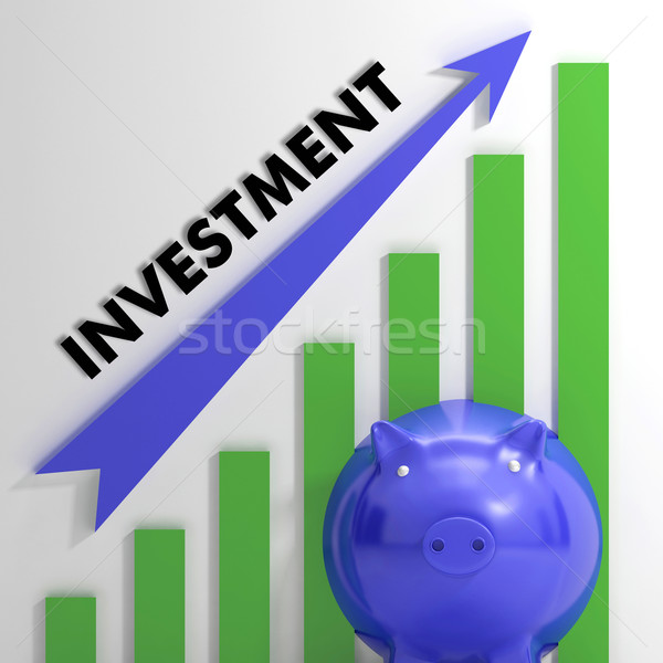 Raising Investment Chart Showing Increased Profit Stock photo © stuartmiles