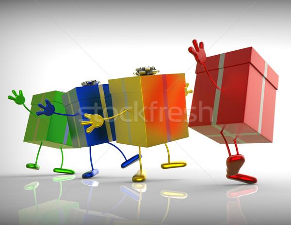 Photo stock: Présente · Shopping · spéciale · parfait · cadeau