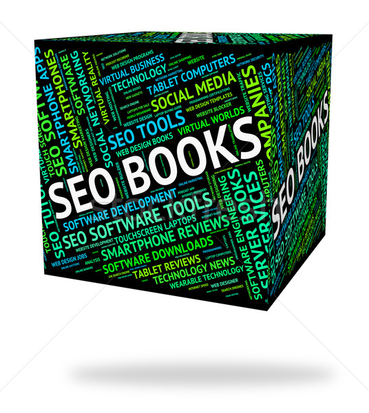 Seo Books Indicates Optimized Optimizing And Optimize Stock photo © stuartmiles